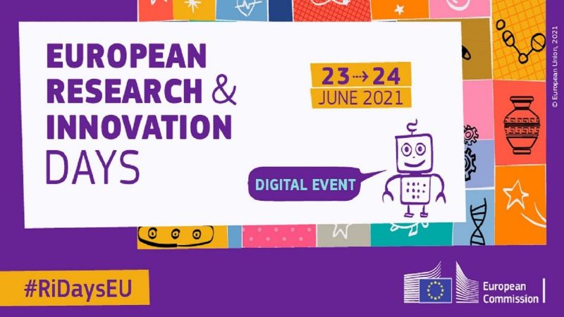 European Research and Innovation Days, 23.-24. Juni 2021, #RiDaysEU